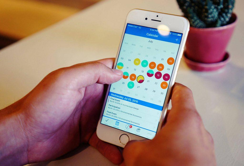 bokningssystemet för restauranger i appen